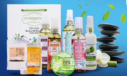 Chăm sóc da như Spa tại nhà với mỹ phẩm thiên nhiên