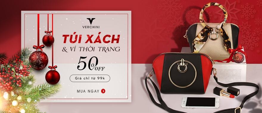Túi xách Verchini đồng giá chỉ từ 99.000đ.