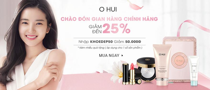 Mỹ phẩm Ohui chính hãng nhiều ưu đãi quà tặng hấp dẫn.