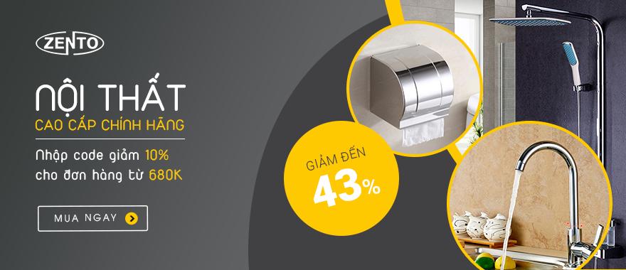 Thiết bị vệ sinh Zento chính hãng - Giảm đến 43%