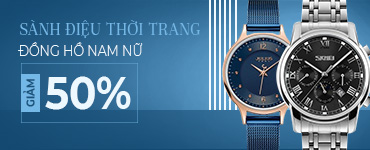 Đồng hồ nam nữ chính hãng giảm đến 50%