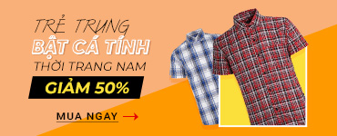 Thời trang nam  - Giảm đến 50%