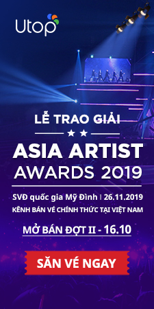 Sở hữu vé dự sự kiện Asia Artist Awards 2019