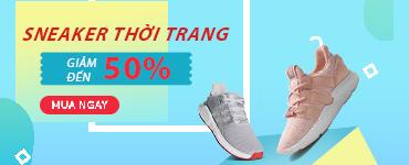 Sneaker chuẩn ngầu - Giảm 50%