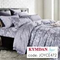 Drap Kymdan Joyce 160 x 200 cm (drap bọc + áo gối nằm)