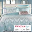 Drap Kymdan Joyce 160 x 200 cm (drap + áo gối nằm + vỏ mền)