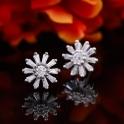 Bông tai bạc Little Hera Flower Eropi
