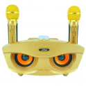 Loa kèm micro hát karaoke Bluetooth JVJ SD306 Không dây - kèm 2 micro hát karaoke không dây bluetooth bass cực chuẩn