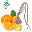 Tinh dầu cam hương Lorganic sweet orange natural essential oil treo xe hơi, tủ quần áo 10ml