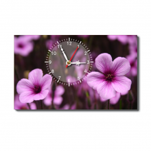 Đồng hồ để bàn Dyvina B1525-97 hoa tím