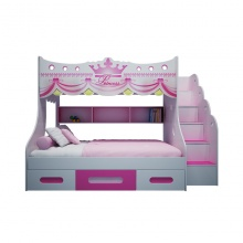 Giường tầng Công chúa cho bé gái 1m2 - IBIE