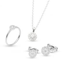 Bộ trang sức đá kim cương nhân tạo - BTS001