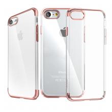 Ốp lưng iPhone 7 Tuxedo Elektro 3D mạ viền, nhựa cứng trong suốt, chống xước, tăng độ bóng 2