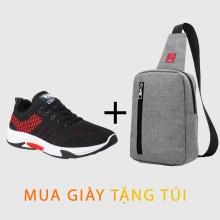 Giày thể thao sneaker thời trang Zapas GS103RE -Tặng túi messenger Glado DCG026GR