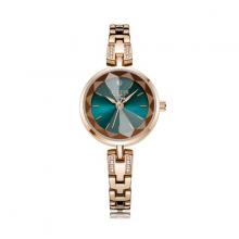 Đồng hồ nữ chính hãng Hàn Quốc Julius JA-1103D (Đồng mặt xanh)