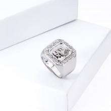 Nhẫn nam phong thủy đính đá màu - 96