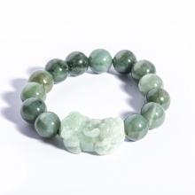 Vòng tay đá cẩm thạch mix tỳ hưu BRJAD10MT01 - Vietgemstones