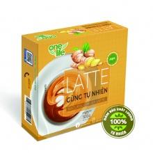 Trái cây sạch- Latte gừng tự nhiên Onelife (Sinh tố gừng) - Hộp 25 gói