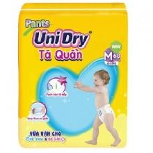 Tã quần Unidry M60 (60 miếng/gói) cho bé từ 6 đến 11 kg