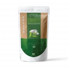 Japanese genmaicha powder - bột hòa tan matcha gạo rang nhật bản onelife – bịch 100gr