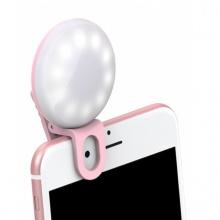 Đèn selfie tự sướng mini Hàn Quốc làm đẹp da gắn kẹp điện thoại - EM042