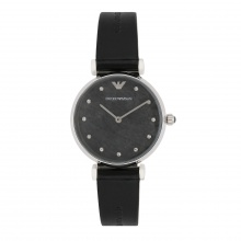 Đồng hồ nữ chính hãng Emporio Armani AR11171 bảo hành toàn cầu - Máy pin dây da tổng hợp