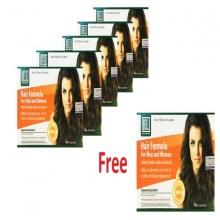 Combo 5 hộp viên uống ngăn ngừa rụng tóc hair formula hộp 30 viên tặng 1 hộp cùng loại.