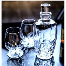 Bộ bình 6 ly rượu manh pha lê  Ý RCR Alkemist 1070ml - 532ml