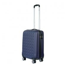 Vali nhựa kéo, du lịch Trip P13 size 50cm xanh đen (TẶNG THẺ TREO VALI)