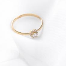 Nhẫn vàng DOJI cao cấp 14K 0819R-LAL026
