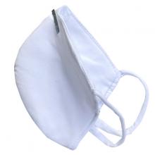 Combo 10 Khẩu trang màu trắng may 4 lớp sử dụng nhiều lần KT5N1001