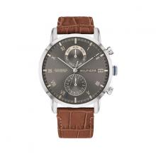 Đồng hồ Tommy Hilifger 1710398 nam lịch thứ ngày dây da 44mm