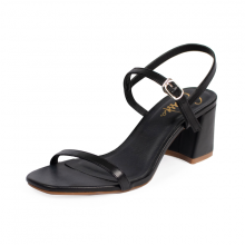 Giày nữ, giày cao gót block heel Erosska đế vuông quai mảnh tinh tế cao 7cm - EM019 (BA)