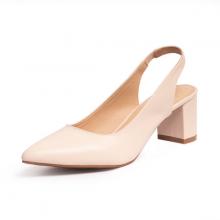 Giày nữ, giày cao gót slingback erosska thời trang nữ kiểu dáng basic EH015 (màu nude)