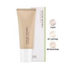 Kem nền Nature Republic Nature Origin Collagen BB Cream 01 Light Beige SPF 25 PA++ 45ml