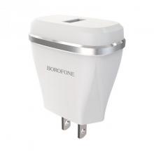 Cóc Sạc BA1 Borofone - 1 Cổng USB - chuẩn US