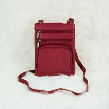 Túi nữ đeo chéo nhiều ngăn Trip SB68 size S màu đỏ
