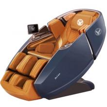 Ghế massage Phi Thuyền Vũ Trụ SS 919X – Màu xanh – Nội thất nâu vàng