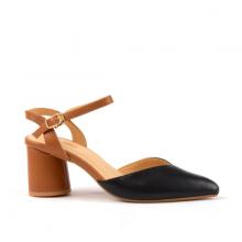 Giày Sandal Gót Tròn 5cm Vasmono V015079
