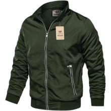 Áo khoác dù nam chống thấm nước dây kéo viền phản quang cao cấp pigofashion akd36 chọn màu