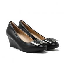 Giày gót thấp Pazzion Singapore 1068-3 BLACK