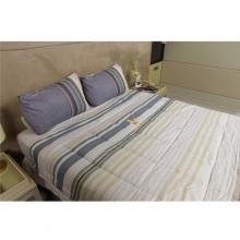 Bộ drap gối thổ cẩm - tencel silky Pierre Cardin