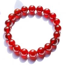 Vòng tay đá ngọc hồng lưu garnet AAA hạt 10mm mệnh hỏa, thổ - Ngọc Quý Gemstones