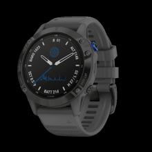 Đồng hồ thông minh theo dõi sức khỏe Garmin fenix 6 ProSolar - Đen, đá phiến