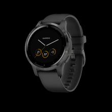 Đồng hồ Garmin Vivoactive 4S, GPS, Wi-Fi, White-Rose Gold, SEA-010-02172-29
