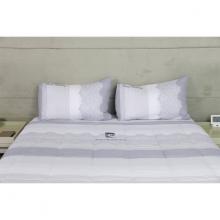 Bộ drap gối hoa văn biển - tencel silky Pierre Cardin