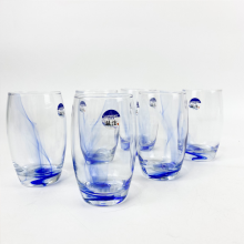 Bộ 6 ly thủy tinh Luminarc Salto Fluid Blue 350ml thân cao