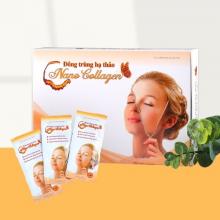 Nước uống Nano Collagen sáng da dưỡng ẩm phục hồi da, bổ sung nội tiết tố nữ (hộp 24 gói)