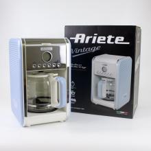 Combo máy pha cà phê Ariete MOD 1342 và dụng cụ đánh trứng Maxim