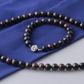 Set vòng cổ và vòng tay ngọc trai tự nhiên Opal sis_01